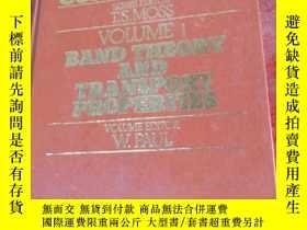 二手書博民逛書店Band罕見Theory and Transport Properties(半導體手冊 第1卷:能帶理論和輸運性質