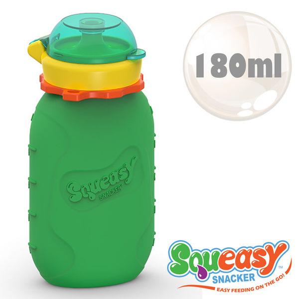 美國Squeasy QQ隨身瓶-180ml 綠