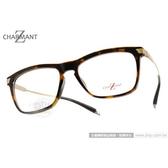 CHARMANT-Z 光學眼鏡 CZT11785 DA (琥珀金) 鈦金屬系列百搭簡約款 平光鏡框 # 金橘眼鏡