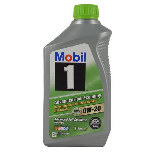 【MOBIL】 1 AFE 0w20 全合成機油