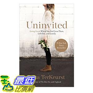 [106美國直購] 2017美國暢銷書 Uninvited:Living Loved When You Feel Less Than, Left Out, and Lonely