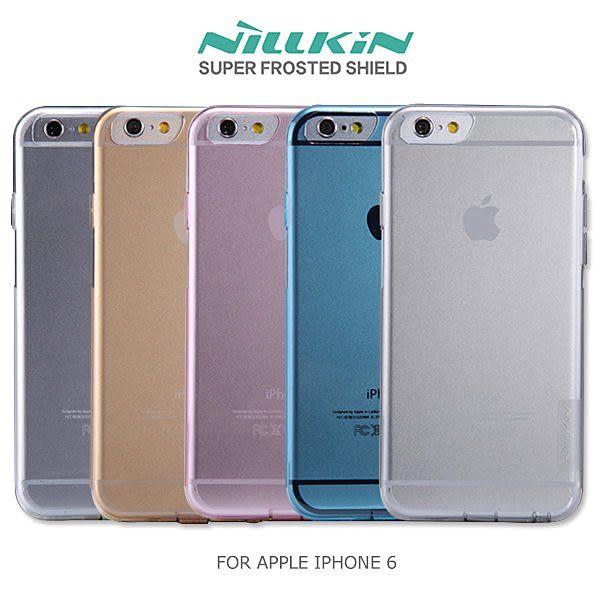 APPLE IPHONE 6 4.7吋 NILLKIN 本色系列TPU軟套 軟殼 果凍套 透色套