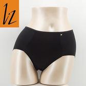 LZ-雙層Q彈S-XL中高腰三角褲(黑.膚)50395