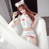 情趣用品 角色扮演 cosplay 性感小護士制服誘惑SM情趣內衣透明薄紗短裙 SDN-1110