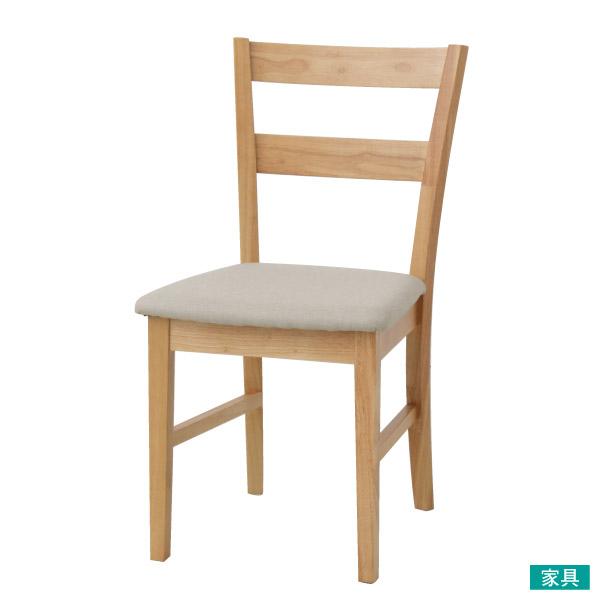 ◎餐椅 SOLID2 FABRIC LBR/BE NITORI宜得利家居
