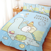 床包 / 雙人【角落小夥伴 恐龍世紀】含兩件枕套 高密度磨毛 戀家小舖台灣製ABF201 角落生物