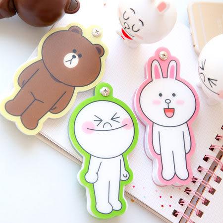 正版LINE造型MEMO紙 便條紙 熊大 兔兔 饅頭人 留言 紙條 書寫 筆記 LINE FRIENDS