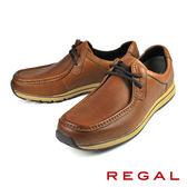 【REGAL】輕量透氣休閒鞋 咖啡(252W-BR)