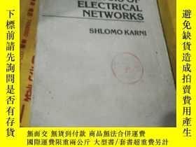 二手書博民逛書店Aalysis罕見of electrical networksY