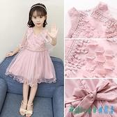 女童夏裝連身裙洋裝2020新款韓版兒童裝夏季超洋氣女孩公主裙子蓬蓬紗 OO6854『科炫3C』