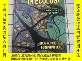 二手書博民逛書店Phylogenies罕見in Ecology: A Guide to Concept... 進口原版 Y26