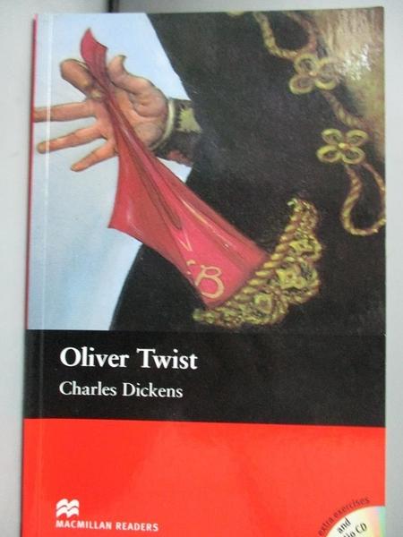 【書寶二手書T9/語言學習_HHK】Macmillan(Intermediate): Oliver Twist+2CDs