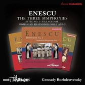 【停看聽音響唱片】【CD】Enescu:The Three Symphonies