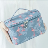 ins網紅化妝包女便攜韓國簡約大容量化妝袋箱少女心洗漱品收納盒