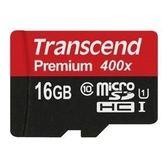 全新 Transcend 創見 16G UHS-I Class10 microSDHC 400X 45MB/s 記憶卡 終保