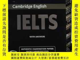 二手書博民逛書店Cambridge罕見English IELTS EXAMINATION PAPERS 5(有光盤)Y2396