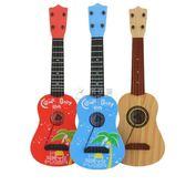 吉他玩具 兒童可彈奏仿真迷你樂器男孩女孩初學者音樂琴寶寶小吉他 俏女孩