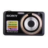 相機Sony/索尼高清普通數碼照相機高清自拍旅游家用微距卡片機可攝像【全館快速出貨】