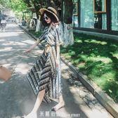 泰國旅游必備波西米亞顯瘦超仙海邊度假森女想去海邊沙灘裙套裝女 「米蘭街頭」