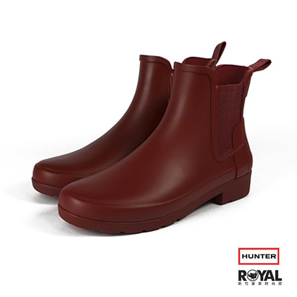 Hunter Boots  紅色 霧面 雨靴 女款 NO.I8106【新竹皇家 HWS01700 R8】