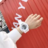 手錶男女電子手錶女學生正韓簡約潮流 ulzzang夜光防水休閒潮男運動大表盤