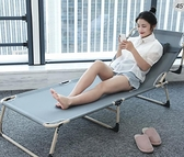 折疊躺椅 折疊床單人午休辦公室午睡醫院陪護便攜行軍懶人簡易兩用躺椅TW【快速出貨八折搶購】