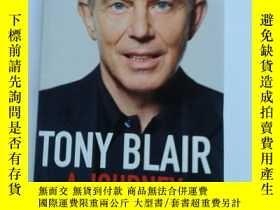 二手書博民逛書店TONY罕見BLAIR:A JOURNEY【精裝版、581】Y1