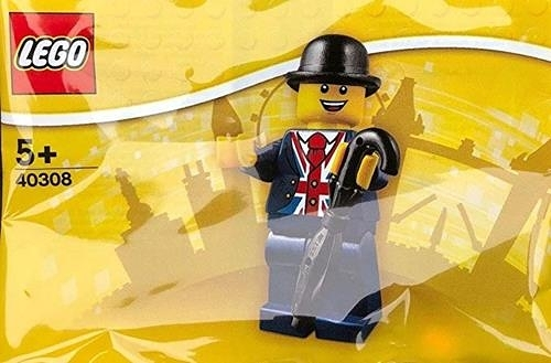 LEGO 樂高 40308 Lester Minifigure UK Exclusive 黑色