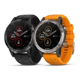 GARMIN fenix 5 Plus 行動支付音樂GPS複合式心率腕錶★愛康介護★