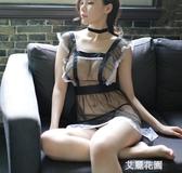 情趣內衣性感透視裝衣服大碼小胸女仆裝制服激情套裝用品sm騷『艾麗花園』