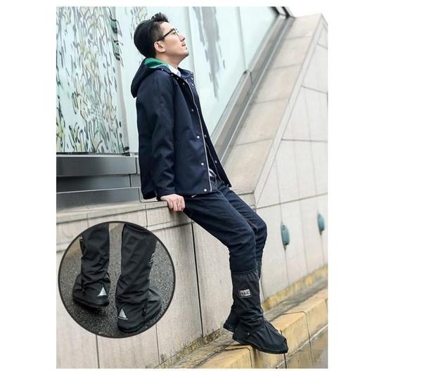 【SG377】長筒雨鞋套 雨鞋套 鞋套 防水雨鞋 防水鞋套 鬆緊帶雨靴 穿脫方便 防滑雨鞋 梅雨季必備