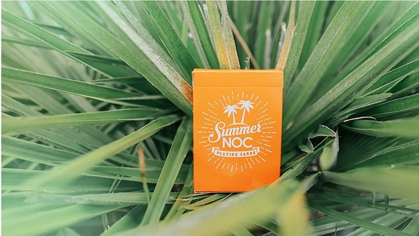 【USPCC撲克】Limited Edition Summer NOC (Orange) Playing Cards