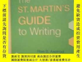 二手書博民逛書店THE罕見ST. MARTIN S GUIDE TO WRIT