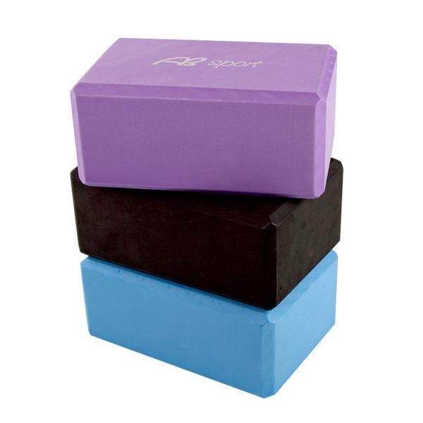 增厚瑜珈磚(40D硬度)(瑜伽磚/伸展運動/EVA/瑜珈塊/加厚/泡綿磚塊)