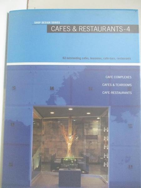 【書寶二手書T1/設計_KKG】Cafes & restaurants : 62 outstanding cafes, tearooms…