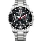 CITIZEN 星辰 關鍵任務三眼計時腕錶(AI7000-83E)