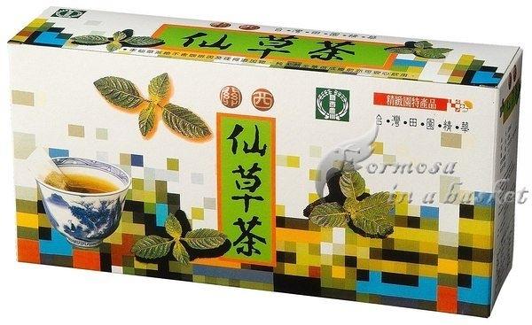 免運(超商取貨)五盒-養生天然仙草茶包--新竹縣關西鎮農會