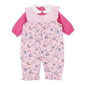 【愛的世界】鋪棉背心衣連褲套裝/6個月~2歲-台灣製- ★幼服推薦