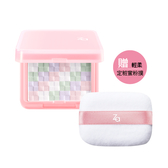 Za絢色亮顏編織蜜粉餅組6g(贈輕柔定粧蜜粉撲及粉撲袋)