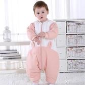 嬰兒睡袋兒童秋冬款防踢被寶寶分腿睡袋幼兒加厚純棉睡衣四季通用ATF