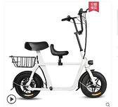 電動車 FIIDO親子電動車成人車女性折疊新款代步迷妳子母小型電動自行車 MKS霓裳細軟