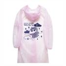 正版 蠟筆小新系列 輕便型雨衣 成人雨衣 戶外用品 粉色款 COCOS KK200