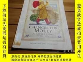 二手書博民逛書店CHANGES罕見FOR MOLLY, A WINTER STO