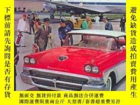 二手書博民逛書店Cars罕見Of The 50s Calendar (wall Calendar)Y364682 102303
