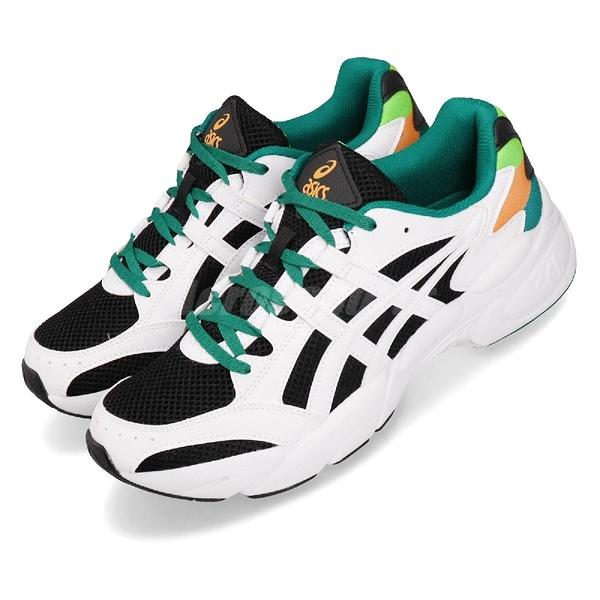 【六折特賣】Asics 復古慢跑鞋 Gel-Bnd 白 黑 休閒鞋 基本款 老爹鞋 男鞋 亞瑟士【ACS】 1021A145001
