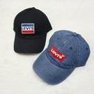 【現貨優惠$999】LEVIS LOGO 老帽 丹寧 黑色 休閒 運動 遮陽 2款 男女 帽子 38021-0108