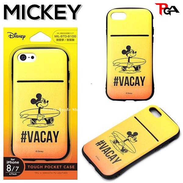 日本正版限定 迪士尼 米奇 x VACAY 耐衝擊 耐震動  iPhone 7 / 8 對應 4.7吋  手機保護殼套