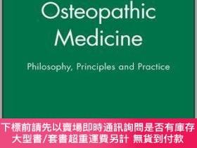 二手書博民逛書店預訂Osteopathic罕見Medicine - Philosophy, Principles And Prac