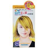 SOFEI 舒妃 彩之柔 染髮霜-1 淺金銅 40g(2入)/盒【康鄰超市】