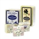 【法鉑馬賽皂】法鉑馬賽紗袋B組(經典橄欖皂+精油皂,贈3塊小皂)